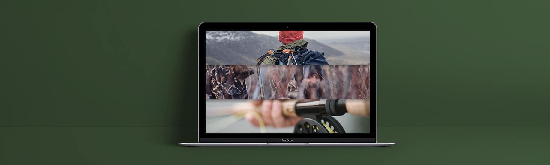 Présentation de l'image d'accueil du site de vente en ligne de Destock nature