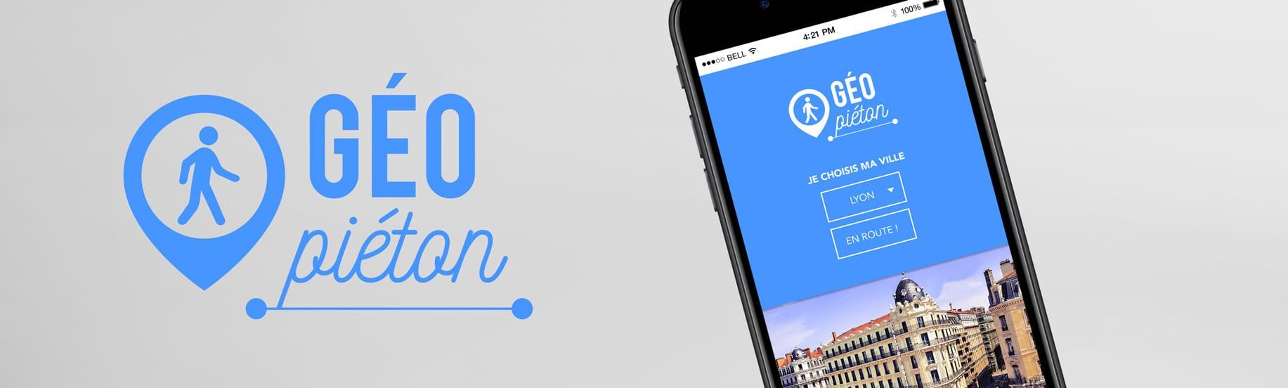 Identité visuelle et page d'accueil de l'application