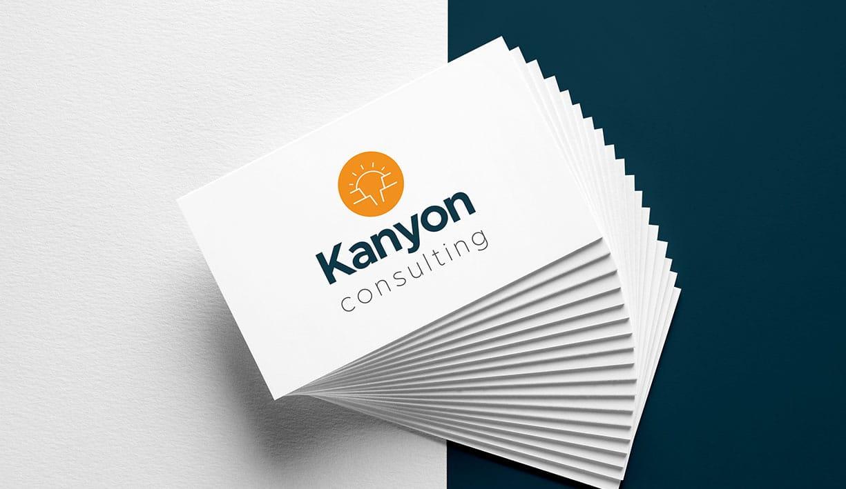 identité et carte de visite kanyon consulting