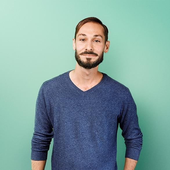 Portrait de Gaël Graphiste