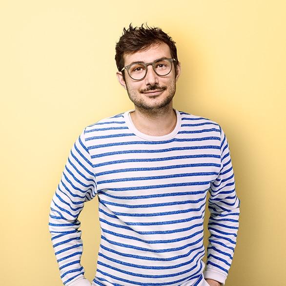 Portrait de Guillaume site internet