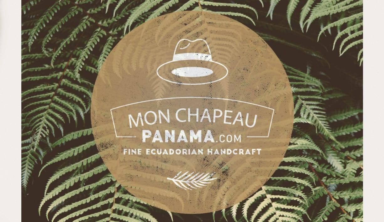 Univers de l'identité visuelle de Monchapeaupanama.com