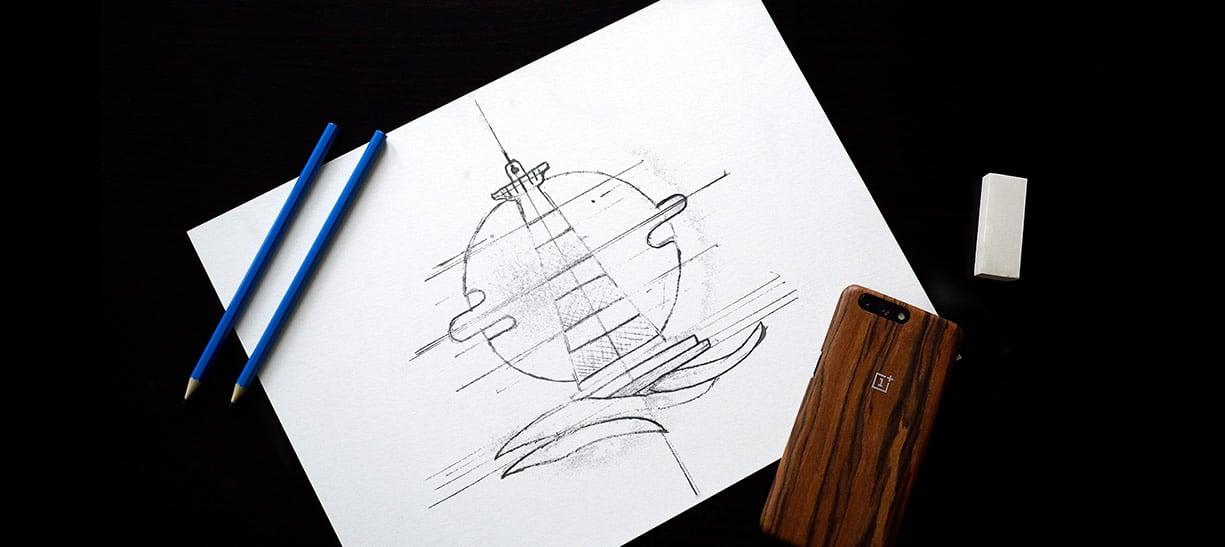 Illustration au crayon de bois pour motion design