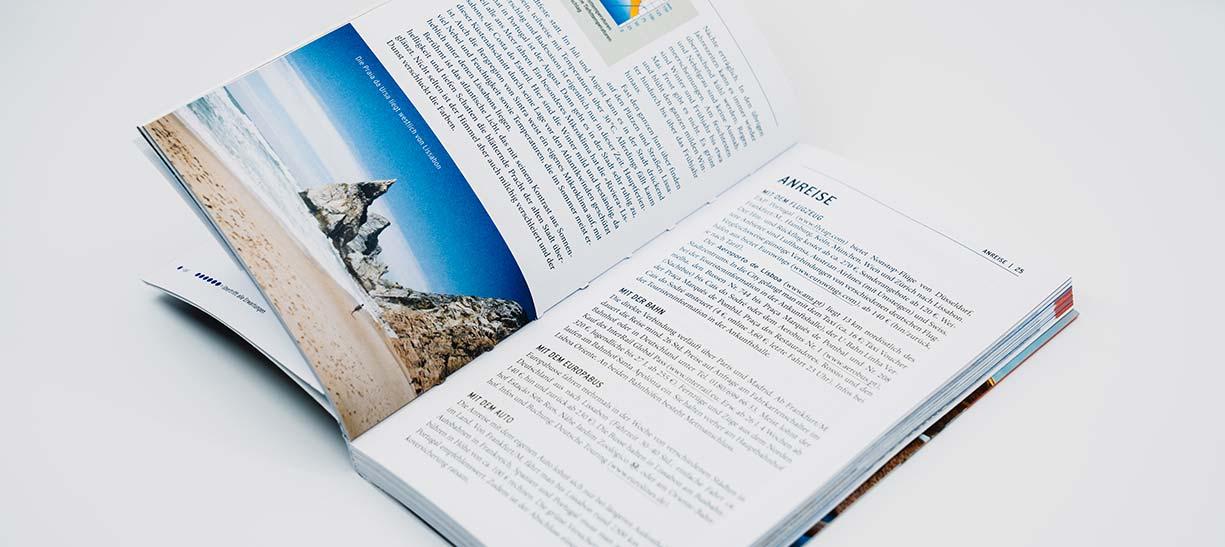 Edition d'un guide de voyage