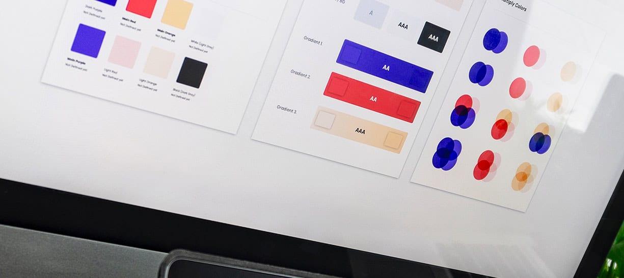 choix de couleurs pour une charte graphique