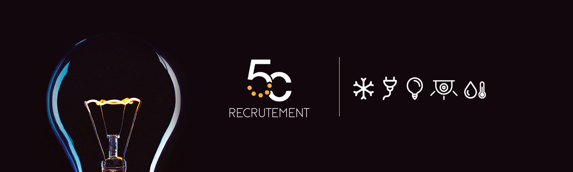 Logo de 5C et pictogrammes