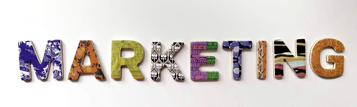 marketing en typographie
