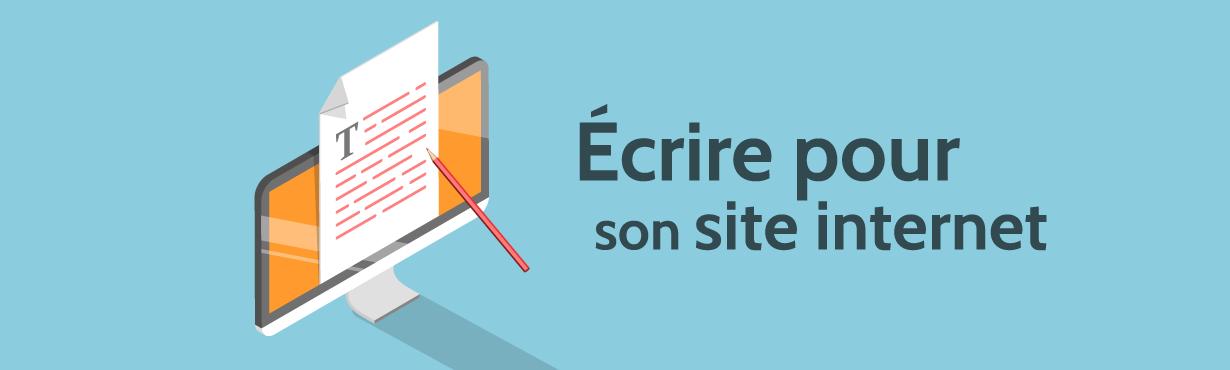 Écrire pour votre site web